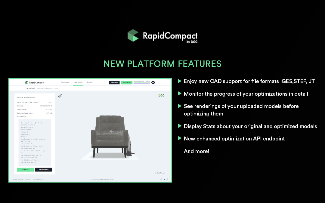 new platform features