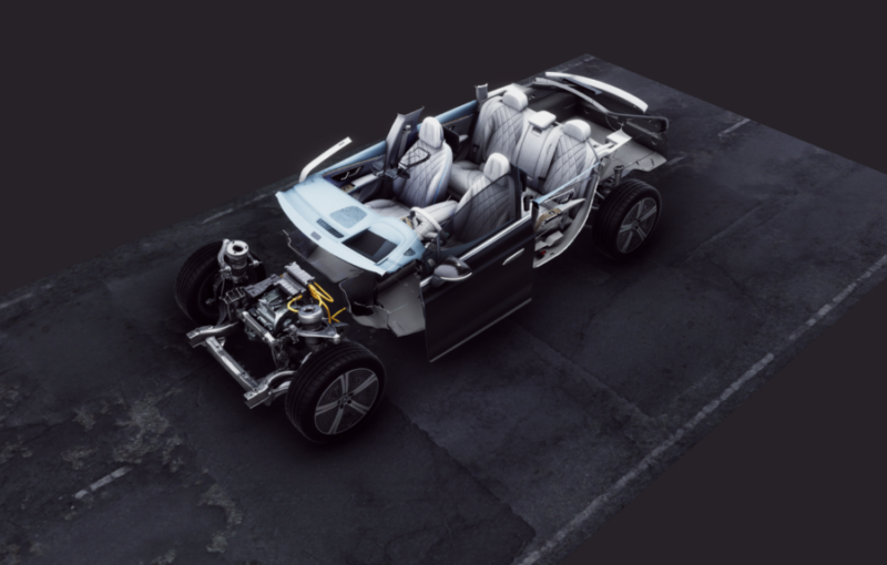 3D model of car optimized with RapidCompact